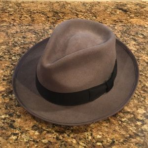 Scala Fedora - Wide brimmed hat - grey - XL